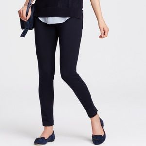 Ann Taylor navy leggings